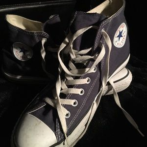Men's Converse canvas high tops